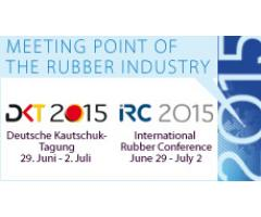 RESINEX attends the International Rubber Conference IRC/DKT 2015. Juni 29 – July 2, Nuremberg